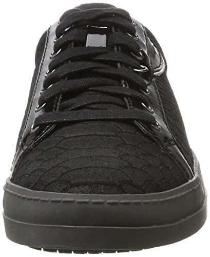 Tamaris 23603, Sneakers Basses Femme Noir (Black Struct)