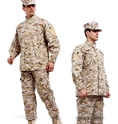 Noga, Tarnanzug, Kampfanzug, Feldanzug, Militäruniform, Jagdanzug, für Planspiele, Paintball, Jacke und Hose, Desert Camo, M -