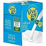 Vivesoy Bebida De Soja Sabor Natural - Pack de 4 x 1000 ml - Total: 4000 ml - [pack de 2]