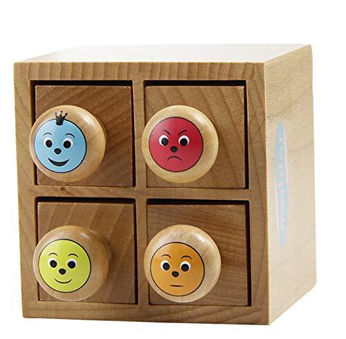 (Avenue Mandarine 7421O Set mit 4 Stempeln, aus Holz, ideal für Lehrer, Kinder oder Scrapbooking, geeignet für Kinder ab 4 Jahren, 1 Set, Bewertung)