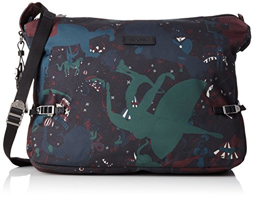 Piero Guidi 21411 Magic Circus Camouflage Borsa a Tracolla, 37 cm, Giungla