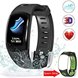 Evershop IP68 Waterproof Fitness Tracker with HD Color Screen, Smart Fitness Tracker Activity