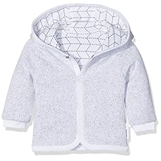Noppies Baby-Unisex Strickjacke U Cardigan Sweat Rev Kamin, Grey, 50