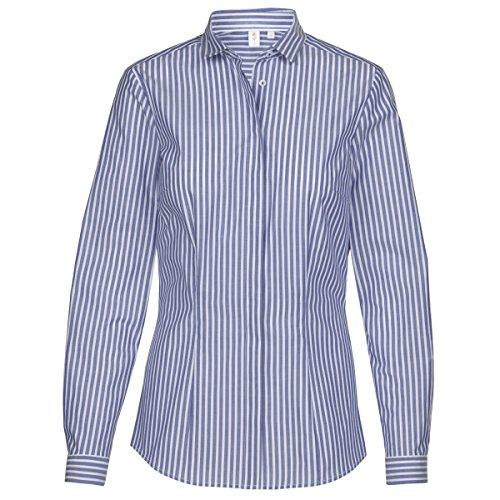 Seidensticker Damen Bluse Mehrfarbig (Dkl.Blau 18)