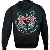 BOON Muay Thai Hoody, Tiger, Pullover, MMA, Kapuzenpullover, Jacke, Kickboxen Größe M