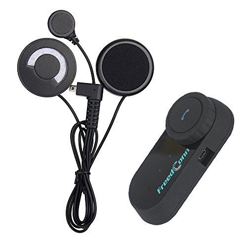 Motocicletta interfono casco bluetooth cuffie communicator freedconn tcom-vb microfono intercom,supporta la comunicazione fra 2-3 motociclisti ad una distanza di 800m, impermeabile