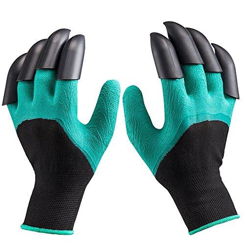 Garten Handschuhe für Graben & Pflanzen, langlebig stichsichere Safe Gartenarbeit Handschuhe für Herren und Damen Haushalt und Garten Werkzeug handschuhe, Bestes Geschenk für Gärtner,1 Paar