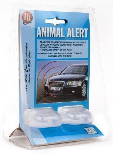 All Ride 871125202451Alarme Avertisseur pour éloigner les animaux, à fixer sur la voiture