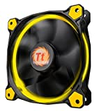 Thermaltake Riing 12 LED PC-Gehäuselüfter gelb