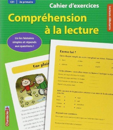 Compréhension à la lecture CE1 : Cahier d'exercices de Willemijn Van Abeelen (12 mai 2012) Broché