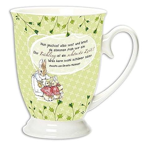 Tasse »Frühlingsreigen« (Beatrix Potter Frühling)