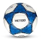 Hetoo Wasserdichter Fußball. Bester Trainings- und Spielball für Erwachsene und