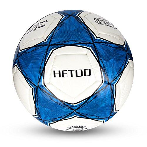 Hetoo Ballon De Football étanche, Meilleur Ballon D'entraînement Et De Match Pour Les Adultes Et Les Enfants-taille 5,4,3 (taille 4)