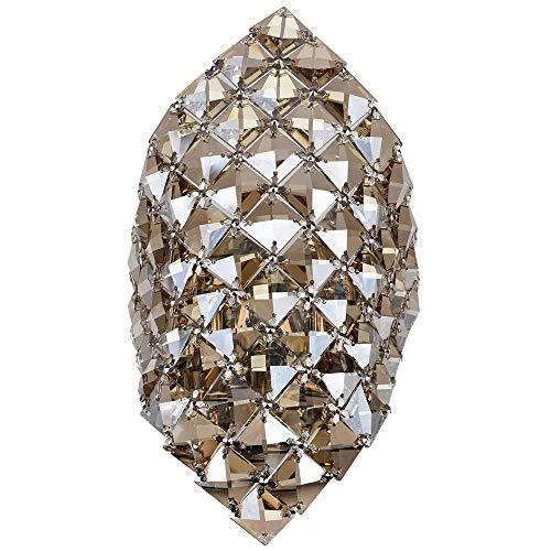Wandleuchte,Kristall Kronleuchter G9 Wandleuchte Gold Kristall Wandleuchte Lampe Led Nachtglas Kristall Wandleuchte -