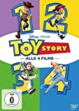 Toy Story 1-4 [4 DVDs]