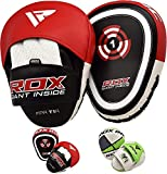 RDX Boxing Pads Target Punch Focus Mitts Hook & Jab Punching Pads MMA Thai Training Strike Kick Shield