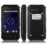 Hipipooo 4 Zoll IP68 wasserdichtes 3G robustes Android 4.4.2 Smartphone
