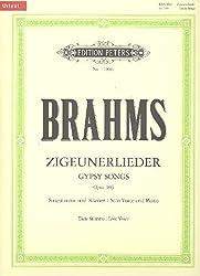 Zigeunerlieder aus op. 103 / URTEXT: GYPSY SONGS / Tiefe Singstimme und Klavier