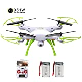 Drone FPV Droni Wifi Syma X5HW Radiocomandato Quadcopter...