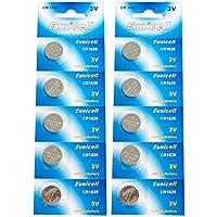Eunicell CR1620 5009LC Lithium Blister Pack 3V 3 Volt Coin Cell Batteries (10 pcs) by Eunicell preisvergleich bei billige-tabletten.eu