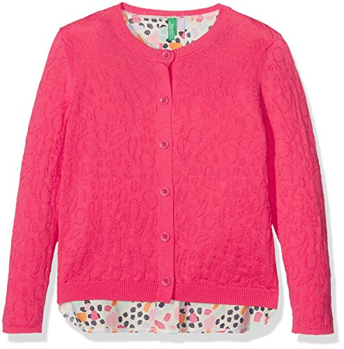 united-colors-of-benetton-girls-l-s-sweater-jumper-multicoloured-fuchsia-11-12-years-manufacturer-si