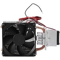 Sistema de Deshumificador de refrigeración de Aire Thermoelectric Termoeléctrica Peltier 12V DC 72W a semiconduttore con Doble Ventiladores de refrigeración para la refrigeración del Banco de Banco