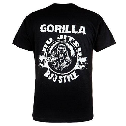 Rule Out T-shirt Abbigliamento sport. GORILLA Jiu jitsu. BJJ STILE PALESTRA allenamento. Arti Marziali Casual Abbigliamento SCOLASTICO Nero