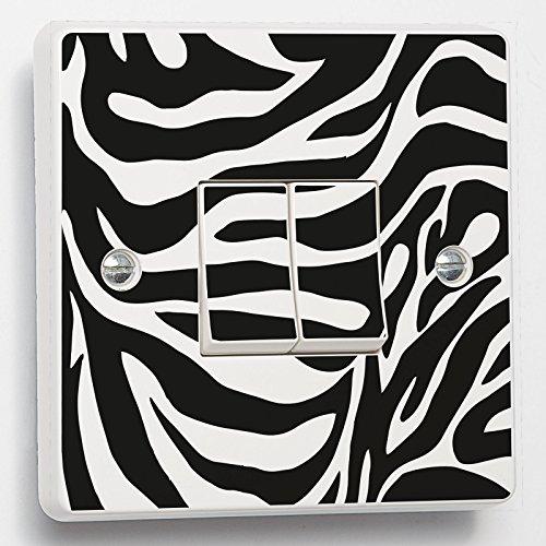 Marilyn Monroe Noir et Blanc Skin Sticker pour Interrupteur en Double Switch Noir et Blanc Vinyle