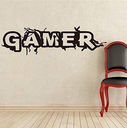 Adhesivo Decorativo Pared Pegatinas Pared Gamer Dormitorios