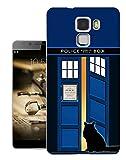 453 - Doctor Who Tardis Call Box Cat Open Door Design