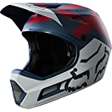 Fox Rampage Comp Preme Helmet, Blau/Rot, Größe S