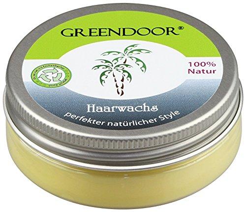 Natürliches Haarwachs matt 50ml, perfekter Style natural wax ohne Silikon Mineralöl Duftstoffe Parfum, hair styling mit Bio Kokosöl Bienenwachs Bio Jojobaöl, Naturkosmetik natürlich ohne Tierversuche