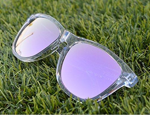 MZM Polarisierte Ersatzgläser für Oakley Frogskins (wählen Sie die Farbe) (Lila, Purple Light)
