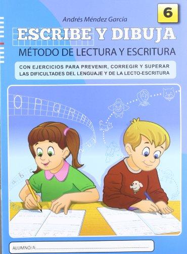 Escribe y dibuja: Cuaderno 6 - 9788497007122