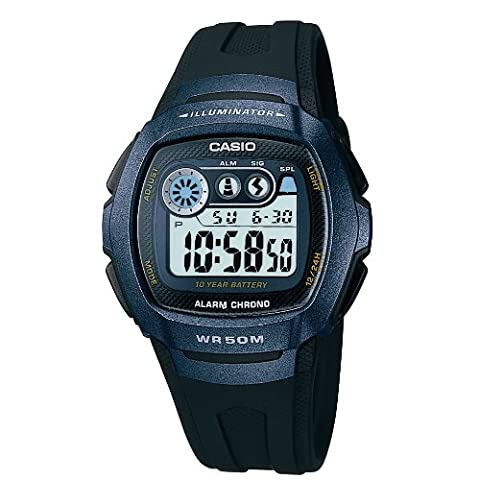 Casio Collection – Men's Digital Watch with Resin Strap – W-210-1BVES