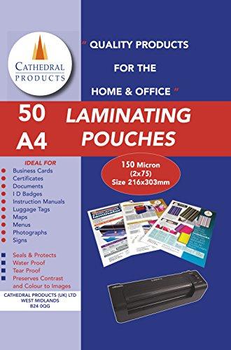 laminating-pouches-150-micron-50pk-a4