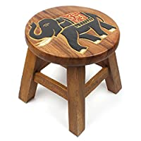 Fair Trade & Hand Crafted Wooden Stool