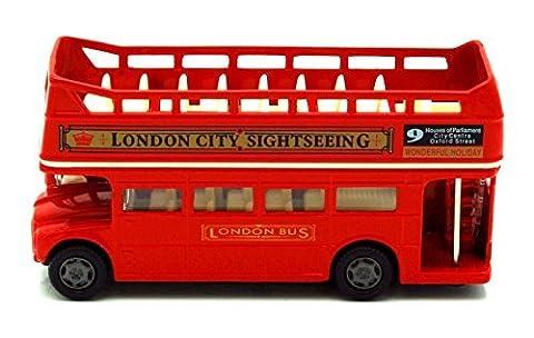 British Street Scene 12cm Richmond Toys Londres Open Top Bus la de Cast Model
