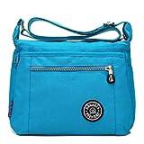 Neue Damen Tasche Nylontuch Tasche Messenger Bag Damen leichte Schulter Reisetasche lässig...