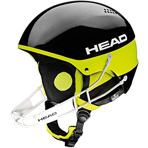 HEAD STIVOT YOUTH SL Kinderskihelm mit Kinnbügel (black) Collection 2015 (M/L (56-59 cm))