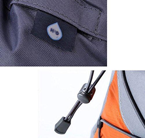 HWLXBB Outdoor Bergsteigen Tasche Männer und Frauen 40 + 10L Wasserdichte Mehrzweck-Bergsteigen Tasche Wandern Camping Bergsteigen Freizeit Rucksack Rucksack 1*
