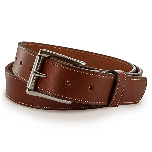 Hanks Canyon Gürtel-3,8cm massivem Leder Gürtel für Herren-USA Made-100Jahre Garantie, Herren, Oakwood