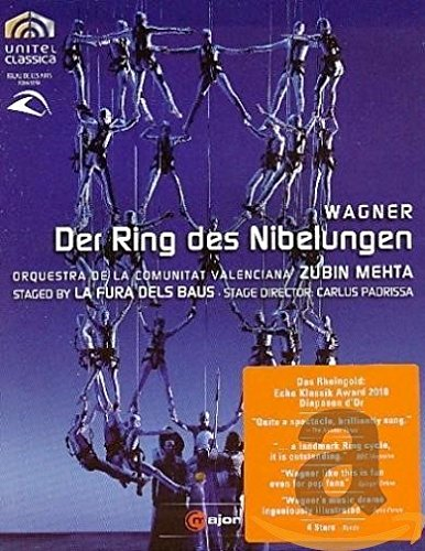 Richard Wagner - Der Ring des Nibelungen [Blu-ray] [Limited Edition] (Wagner Nibelungen Ring Der Des)