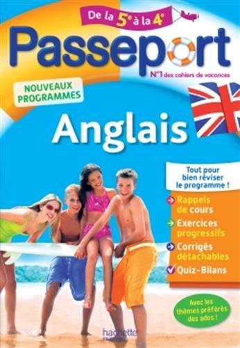 Passeport Anglais de la 5e à la 4e