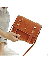 Women Handbag Vintage Small Brown Sling Bag Women Handbags Crossbody Bag