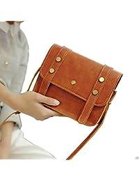 Women Handbag Vintage Small Brown Sling Bag Women Handbags Crossbody Bag