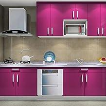 hot mueble de cocina de primera calidad engomada del pvc auto rollos de papel pintado adhesivo para muebles cocina bao m pegatinas hoja de