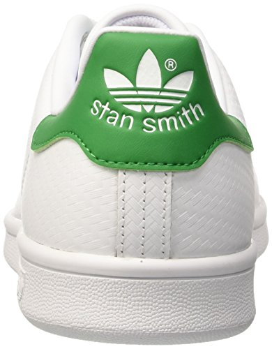adidas Stan Smith, Baskets Basses Homme Blanc Cassé (STAN SMITH RUNWHT/RUNWHI/FAIRWA)