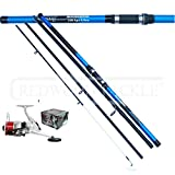 Best Fishing Rods And Reels - Oakwood 14 FT 4PC BEACHCASTER FISHING ROD Review