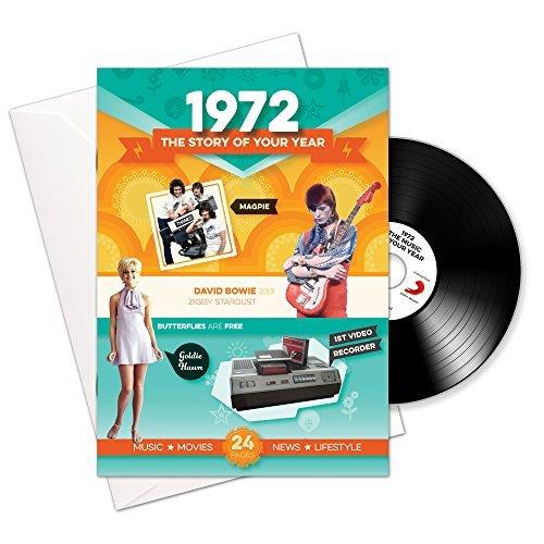 1972 regalos del cumpleaños o del aniversario – Regalo y descarga para hombres y mujeres